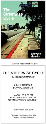 Streetwise Cycle postcard